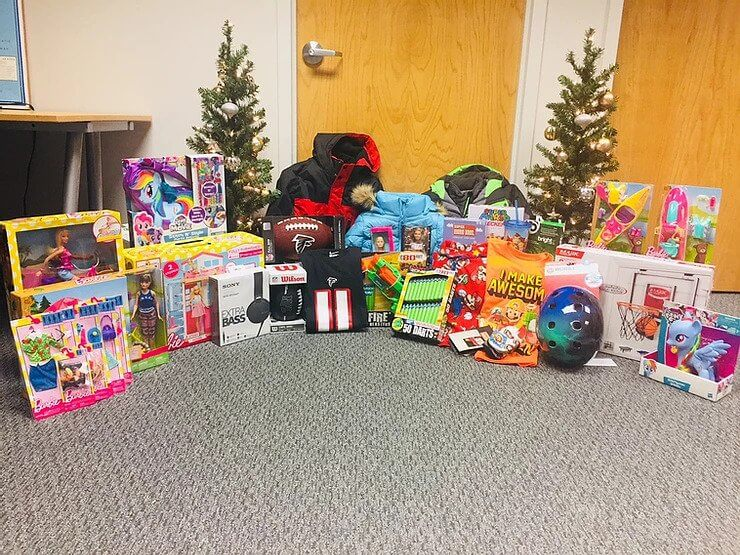 3rd Year Salvation Army Angel Tree