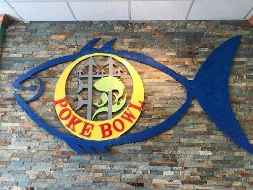 Poke Bowl Signage