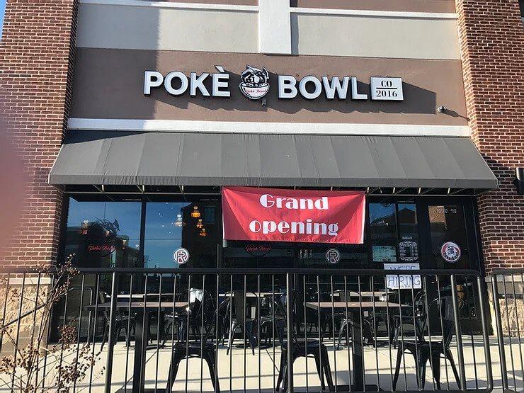 Poke Bowl Co. 2016 Grand Opening