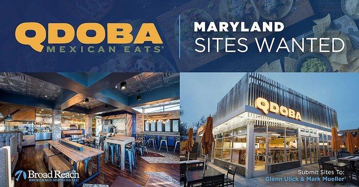 QDOBA Maryland Expansion