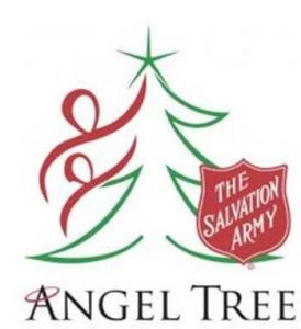 Salvation Army Angel Tree effort shared by Broad Reach staffers