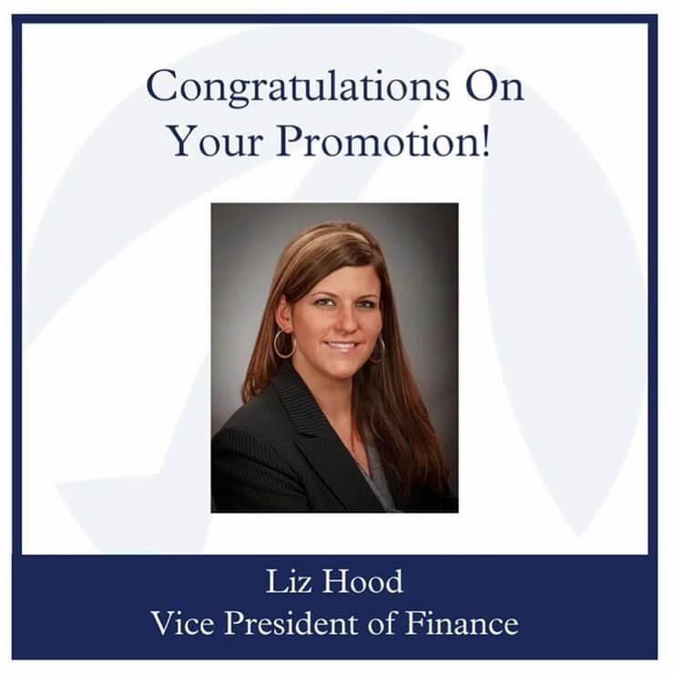 Liz Hood Promotion
