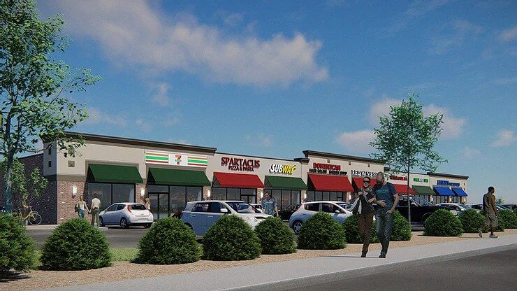 Baltimore County Retail Strip Acquisition