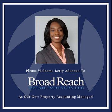 Broad Reach Welcomes Betty Adeosun