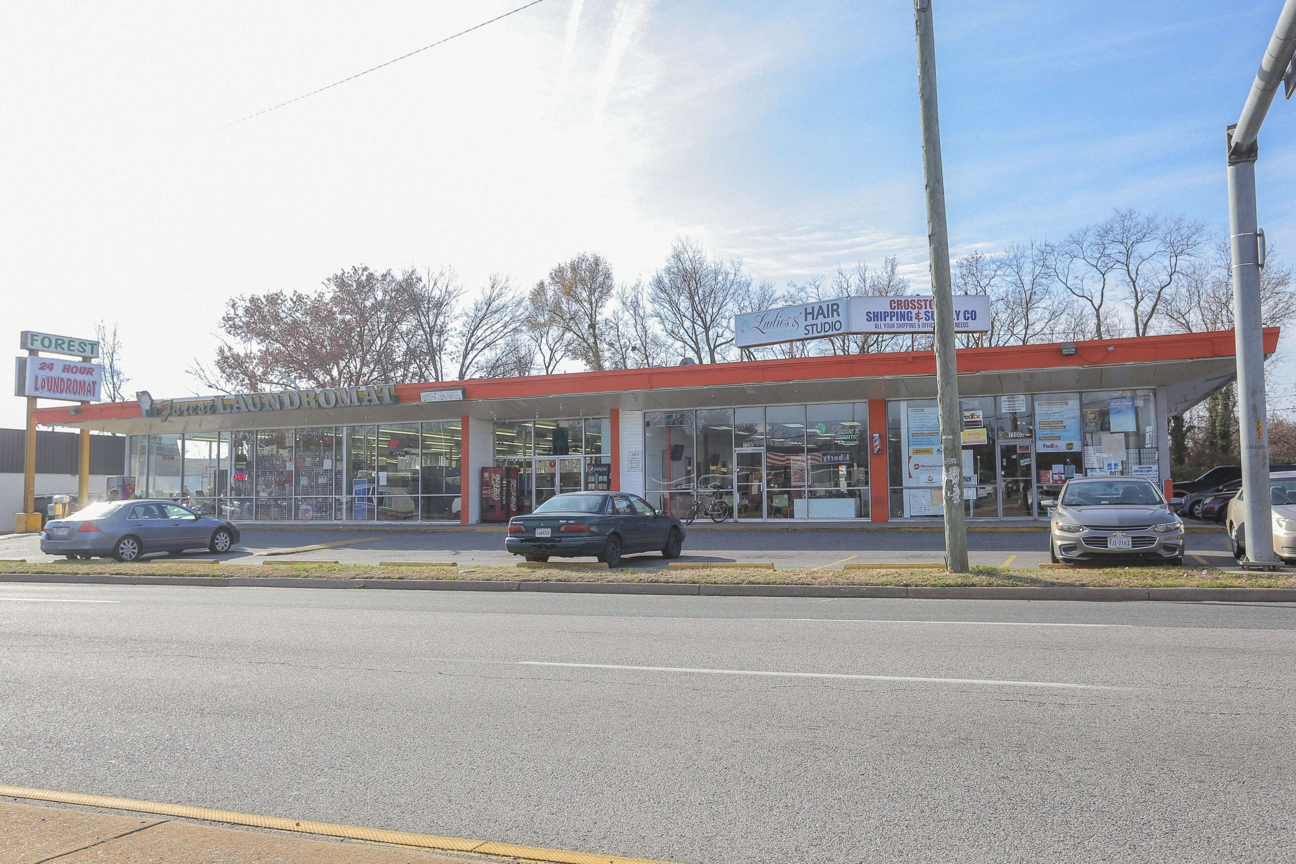 Street View of Richmond Highway Shopping