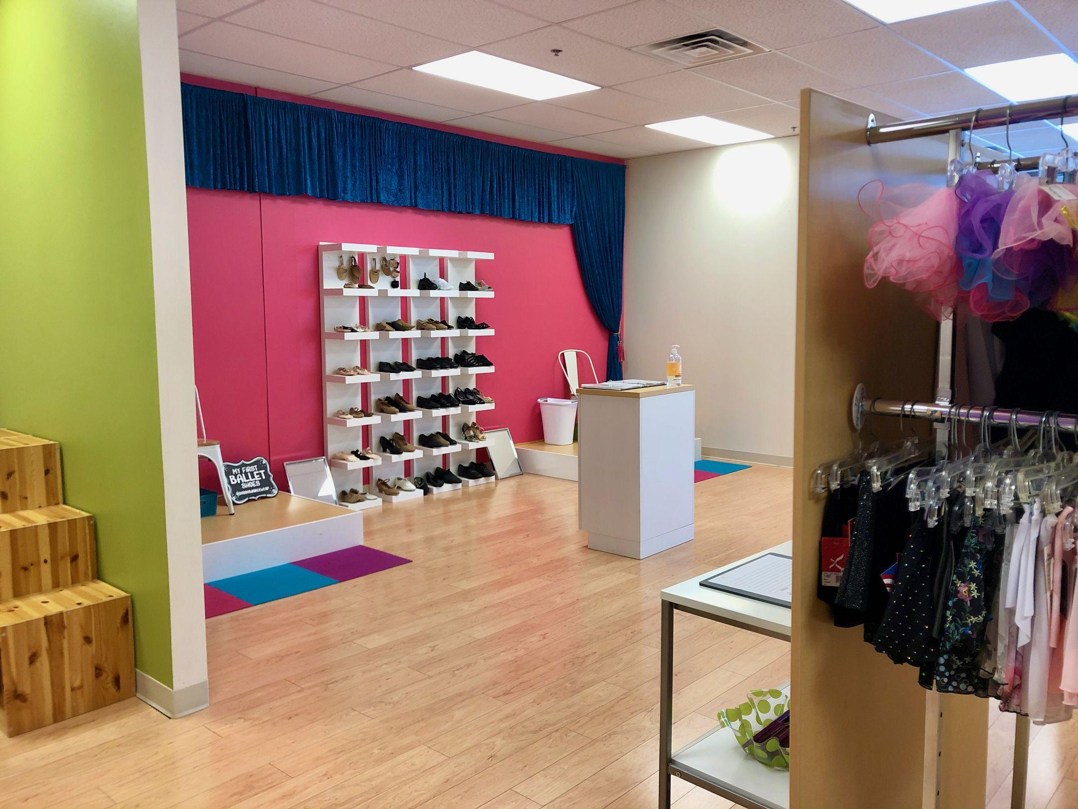 Bobbys Dancewear Interior 2