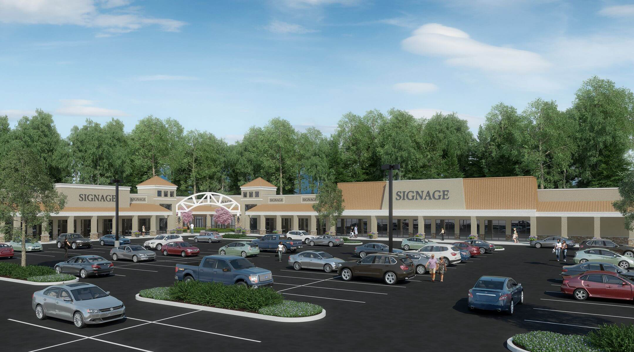 Fallston Mall Rendering 01