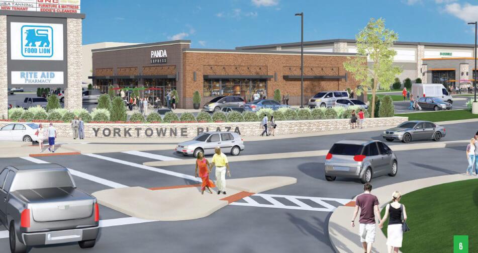Yorktowne Plaza Shopping Center Plans