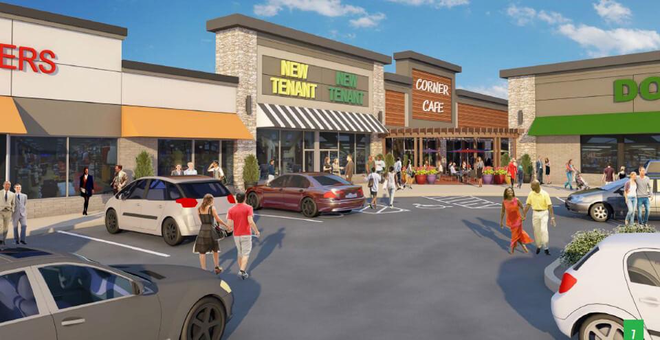Yorktowne Plaza Store Planning