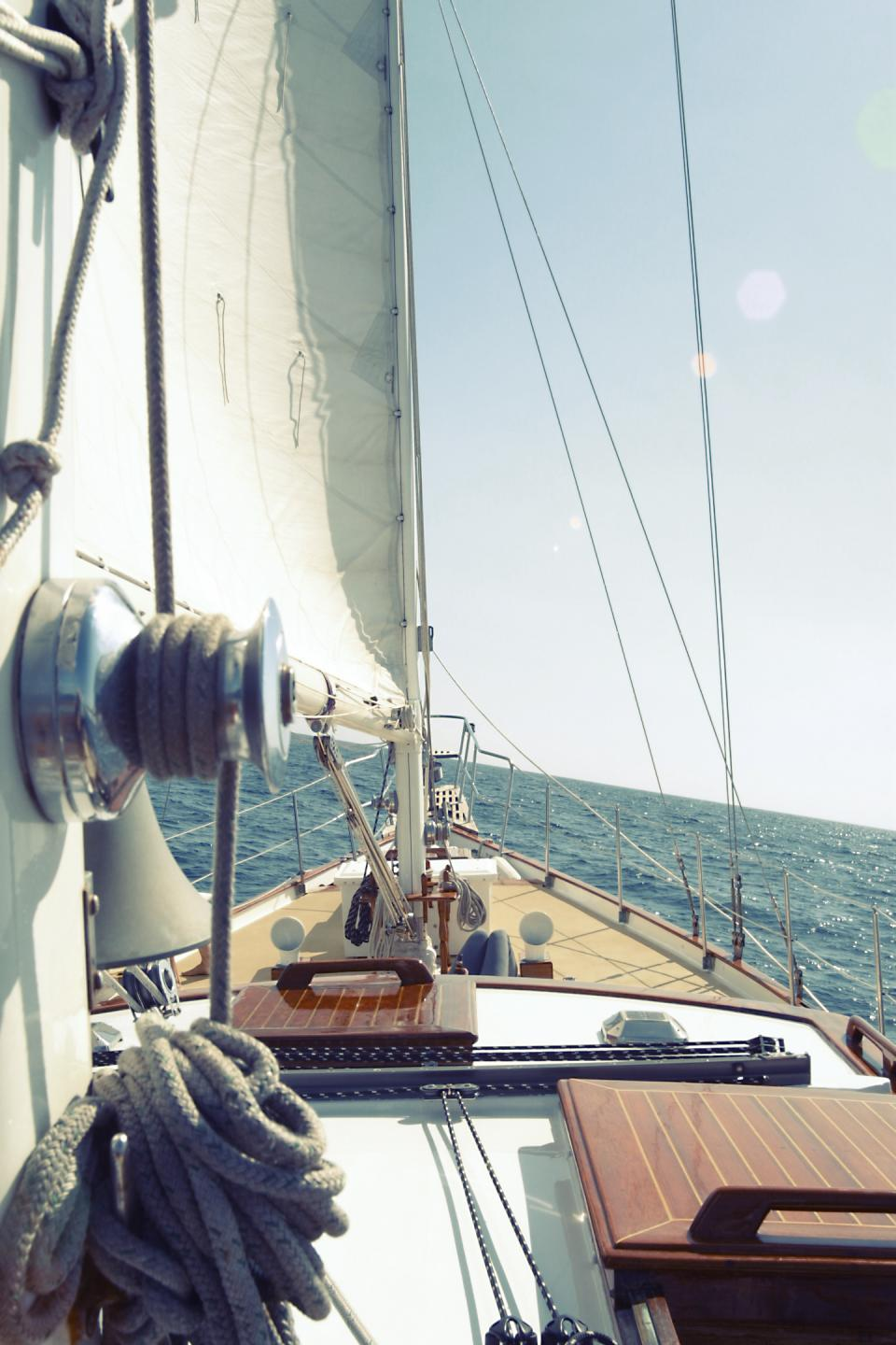 View from a Sailboat
