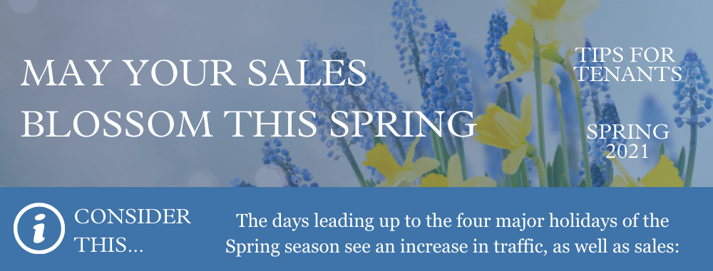 May Your Sales Blossom This Spring Graphic